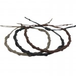 Sibalba Set Macrame Black Grey Brown Men's Bracelet