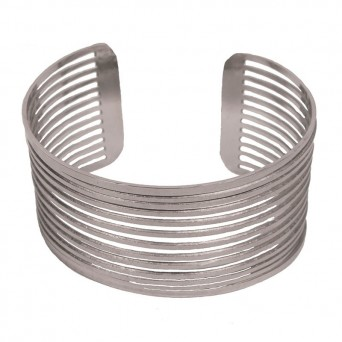 AD Stainless steel cuff bracelet