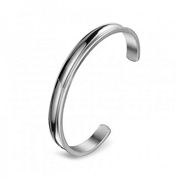 Jt Stainless steel cuff bracelet
