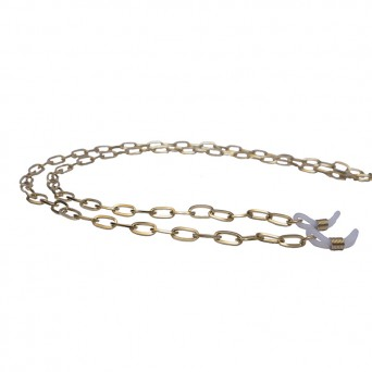 Jt Gold stainless steel glasses' chain