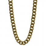Jt Thick gold-plated aluminium women's chain