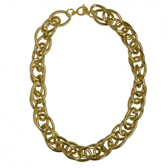 Jt Gold double link aluminium women's chain