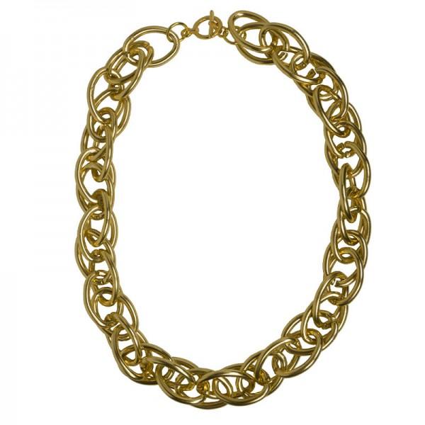 Jt Gold double link aluminium women's chain