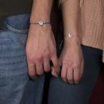 Jt Silver Coins Couples Bracelets