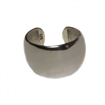VFJ Sterling silver tube ring