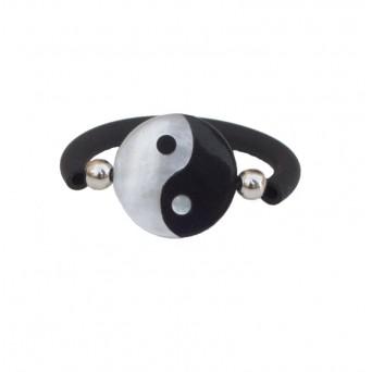 Jt Sterling silver Yin-Yang ring