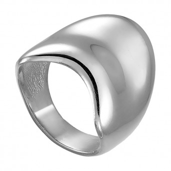 VFJ Sterling silver ring with waves
