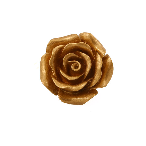 Jt Silver Golden Rose Ring with Tiger Eye