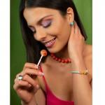 VFJ Sterling Silver Turquoise Ball Stud Earrings