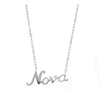 Mc Stainless steel Godmother necklace