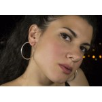 Jt Silver Hoop Earrings 3,5cm