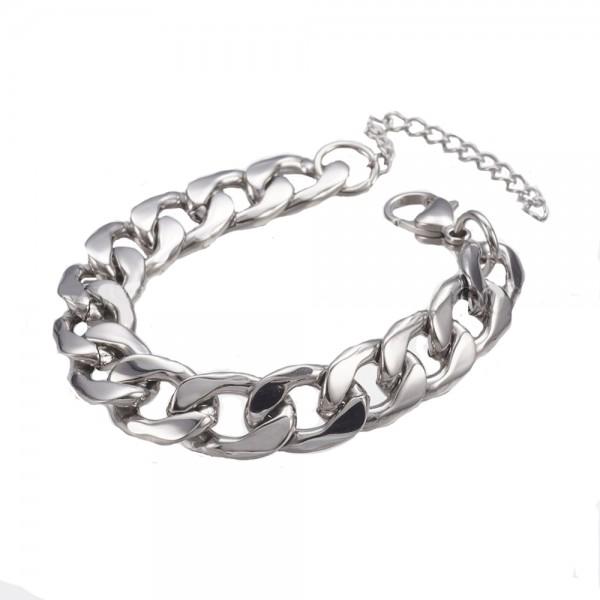 Jt Steel men's chain bracelet 0.9cm