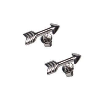 VFJ Sterling Silver Arrow Earrings