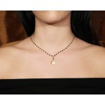 Jt Silver link chain rosary crown necklace