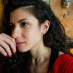 Jt Stainless steel single ear climber earring