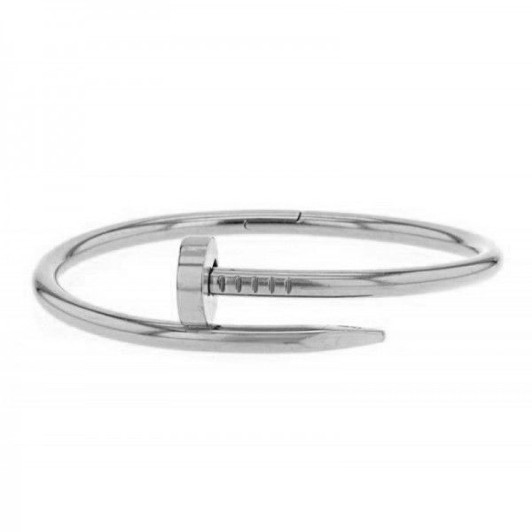 Jt Stainless steel bangle bracelet