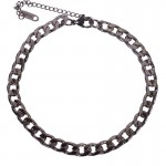 Jt Stainless steel chain ankle bracelet 6mm