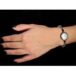 Jt Silver fresh water pearls, hematite Swarovski bracelet