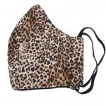 Jt Handmade fabric leopard face mask