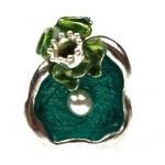 Onitolithi Ασημένιο δαχτυλίδι πρίγκιπας βάτραχος