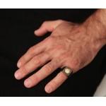 Jt Men's Signet Silver Ring Alexander the Great