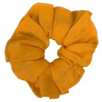 AD Impressιve handmade mustard yellow scrunchie