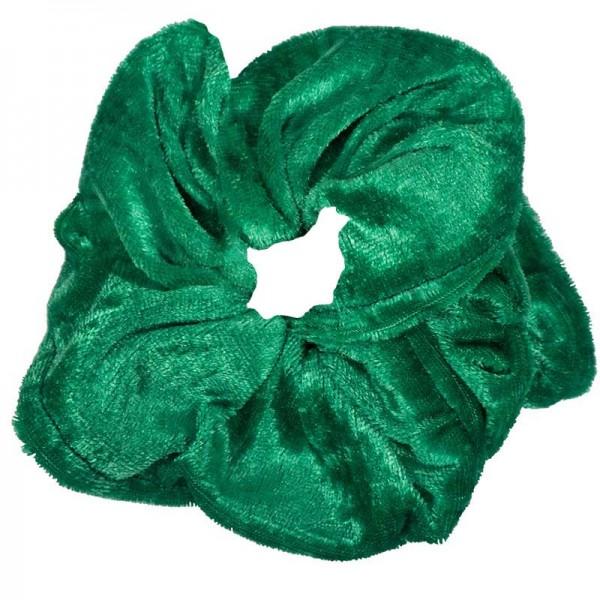 AD Impressιve handmade green velvet scrunchie