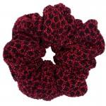 AD Impressive handmade shimmery red scrunchie