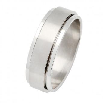 SL Ατσάλινο ανδρικό δαχτυλίδι βέρα