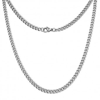 Jt Classic unisex chain necklace 7mm