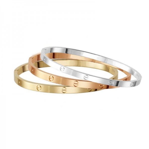 Mc Triple steel bangle set bracelets