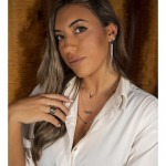 Jt Unisex σκουλαρίκια κρίκοι με κλιπ ατσάλι
