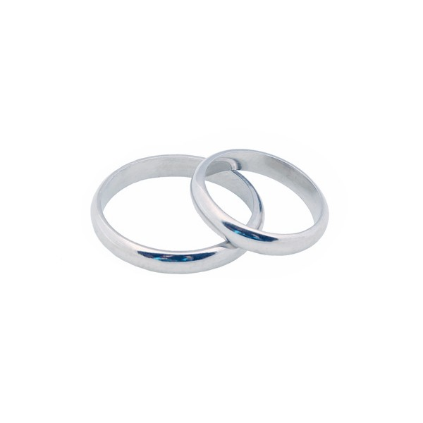 Jt White Gold Wedding Bands 3mm