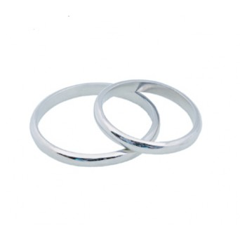 Jt White Gold Wedding Bands 2mm