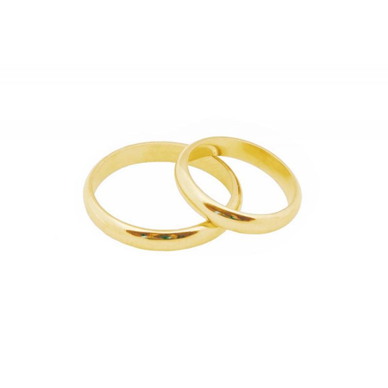 Jt Βέρες από χρυσό 14Κ 3mm e7c300d2dd5