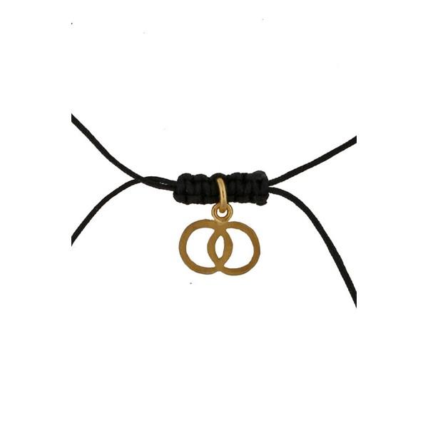 Jt Silver Gemini Zodiac sign necklace