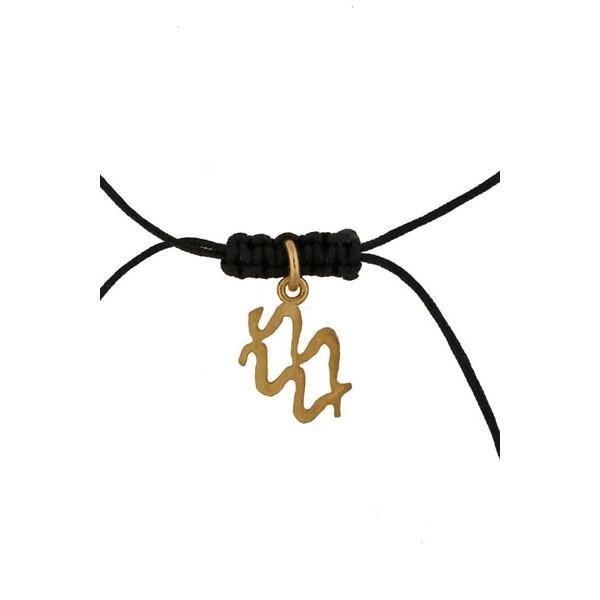 Jt Silver Aquarius Zodiac sign necklace