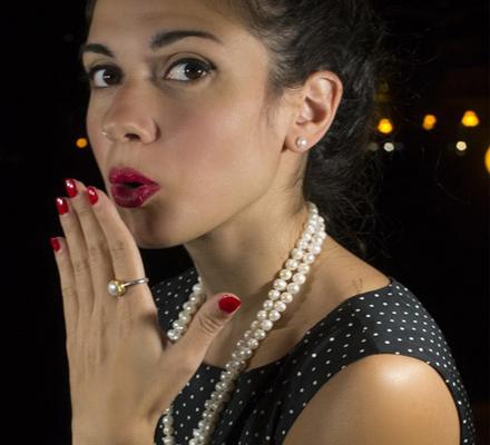 χειροποίητα κοσμήματα με μαργαριτάρια και πέρλες