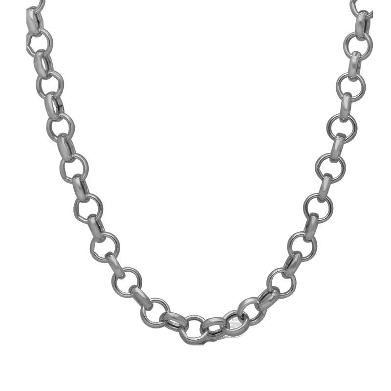 Jt Ατσάλινη ανδρική αλυσίδα λαιμού chain 2.5mm