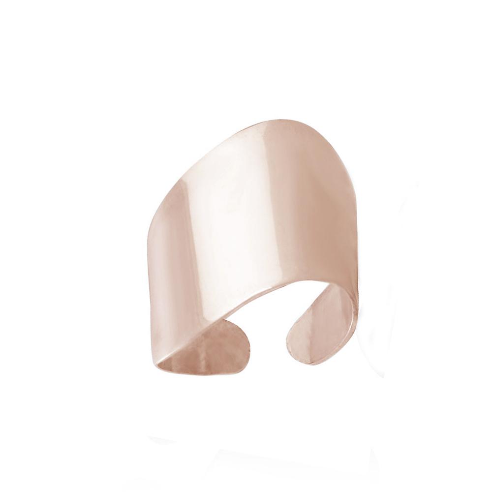 Mc Ροζ ατσάλινο δαχτυλίδι σωλήνας για παράμεσο με καμπύλες