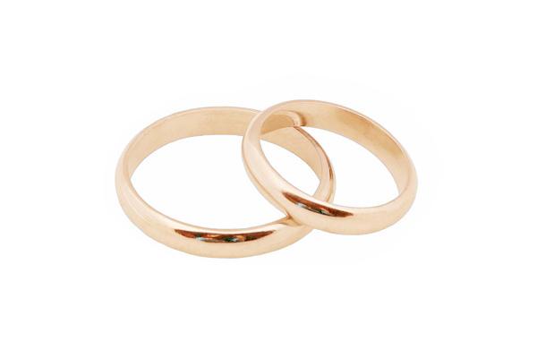 Jt Βέρες από ροζ χρυσό 14Κ 3mm